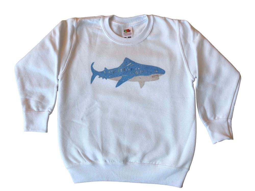 Shark on white